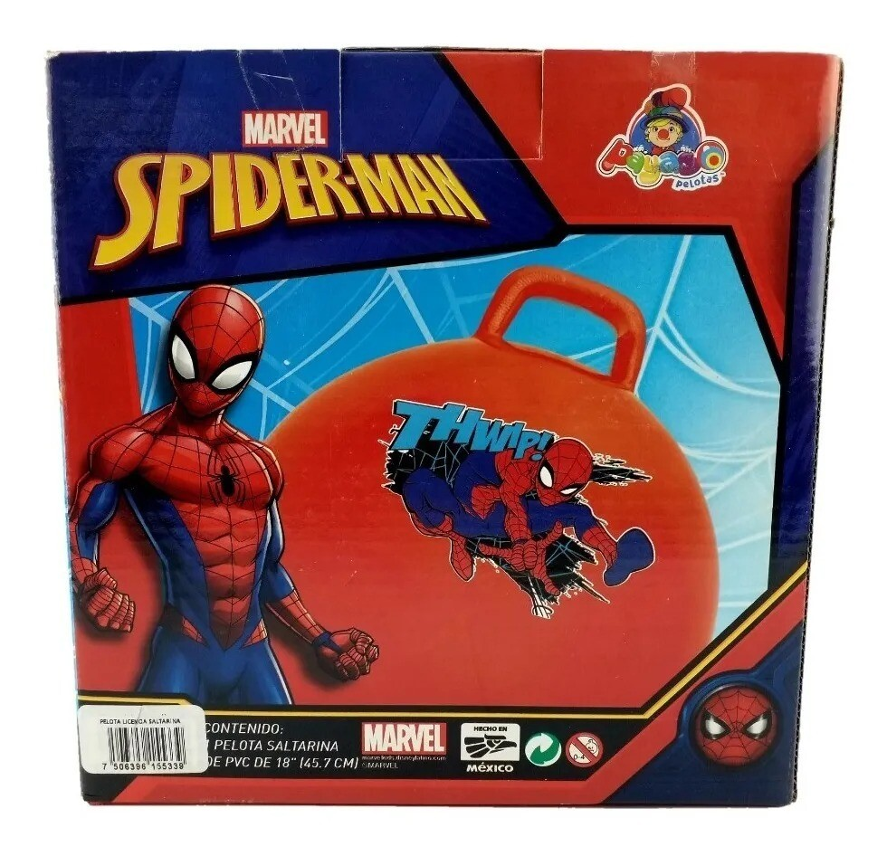 "Pelota Saltarina PVC 18"" - Spiderman"