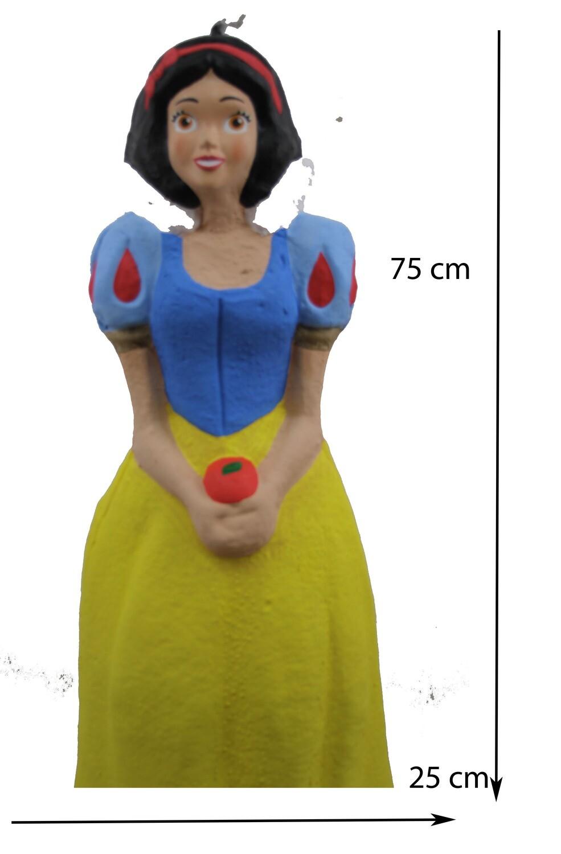 Piñata - Princesa Azul con Amarillo