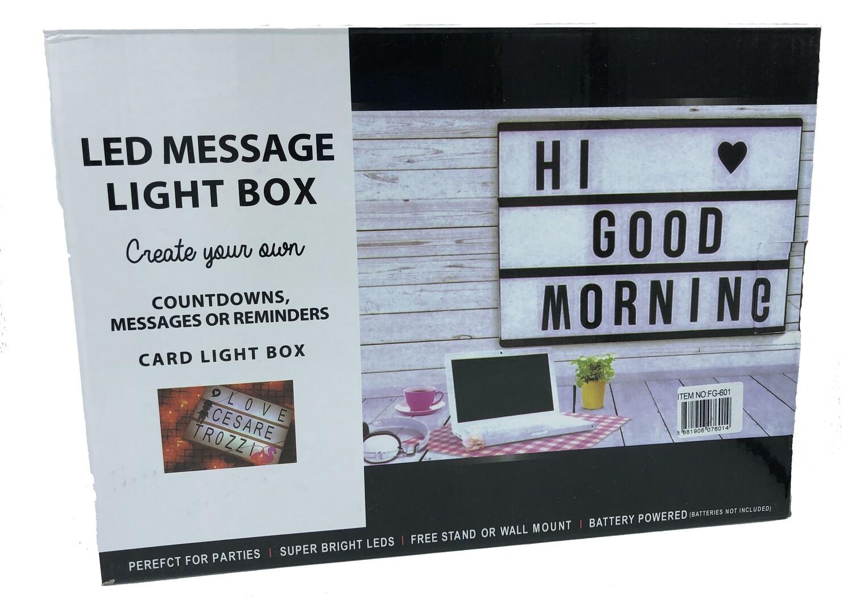 Letrero Ligth Box