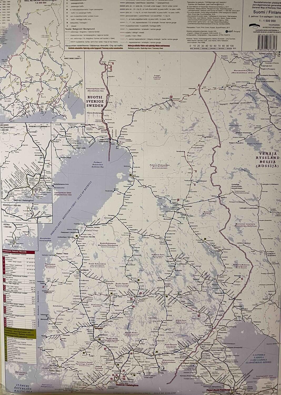 Rautatiehistorian yleiskartta