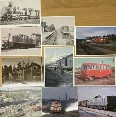10kpl postikortteja