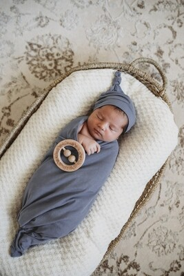 Indigo Baby Wrap Set - Snuggle Hunny Kids