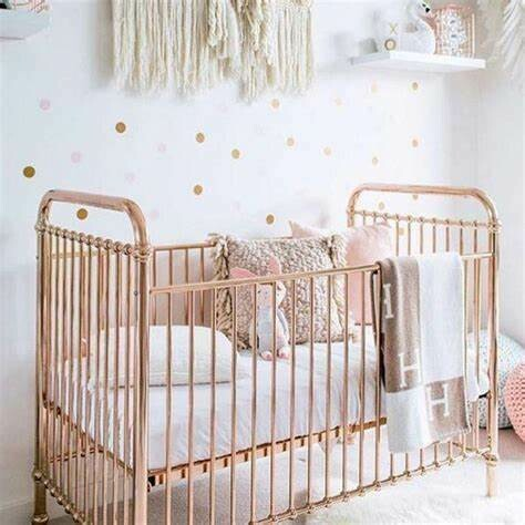 Rose Gold Ellie Cot - Incy Interiors