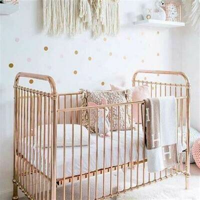 Rose Gold Ellie Cot - Incy Interiors