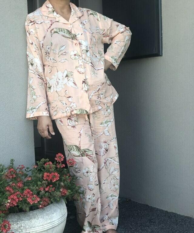 Peach Blossom Pyjamas - S/M