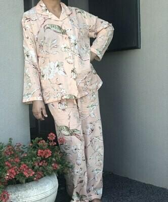 Peach Blossom Pyjamas - M/L