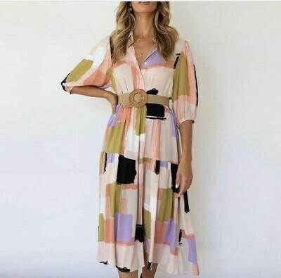 Cleo Dress - L
