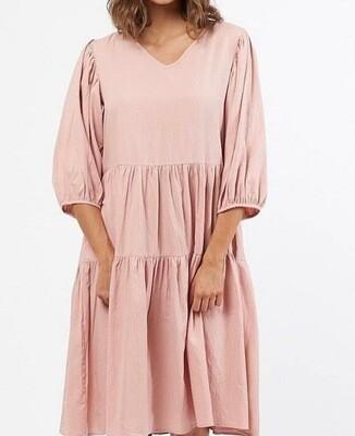 Dusty Pink Dress - M/L