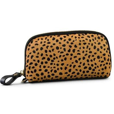 Cowhide/Leather Clutch