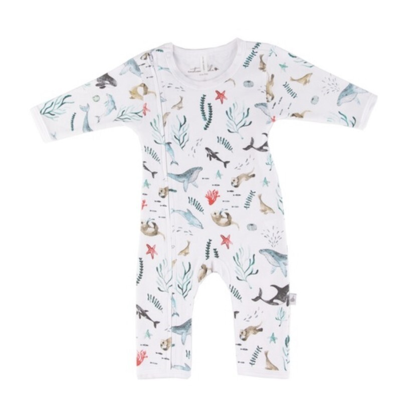 Under The Sea Romper- 0 to 3 Months