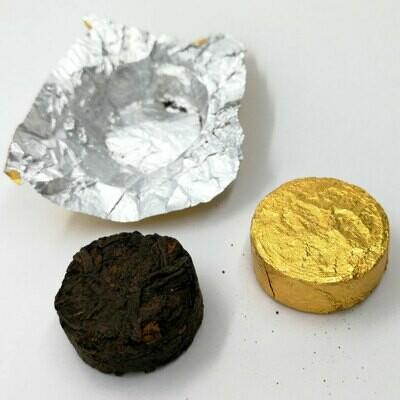 Шу пуэр монеты 2015