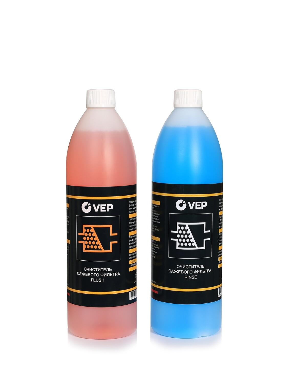 VEP Очиститель сажевого фильтра (катализатора) FLUSH-RINSE