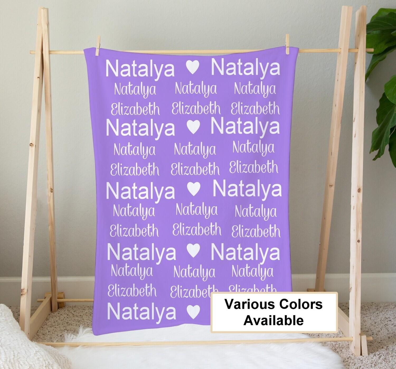 Personalized Name Blanket, Personalized Blanket, KIds Blanket, Boy Blanket, Girl Blanket, Shower Gift Minky Fleece Blanket Baby Blanket