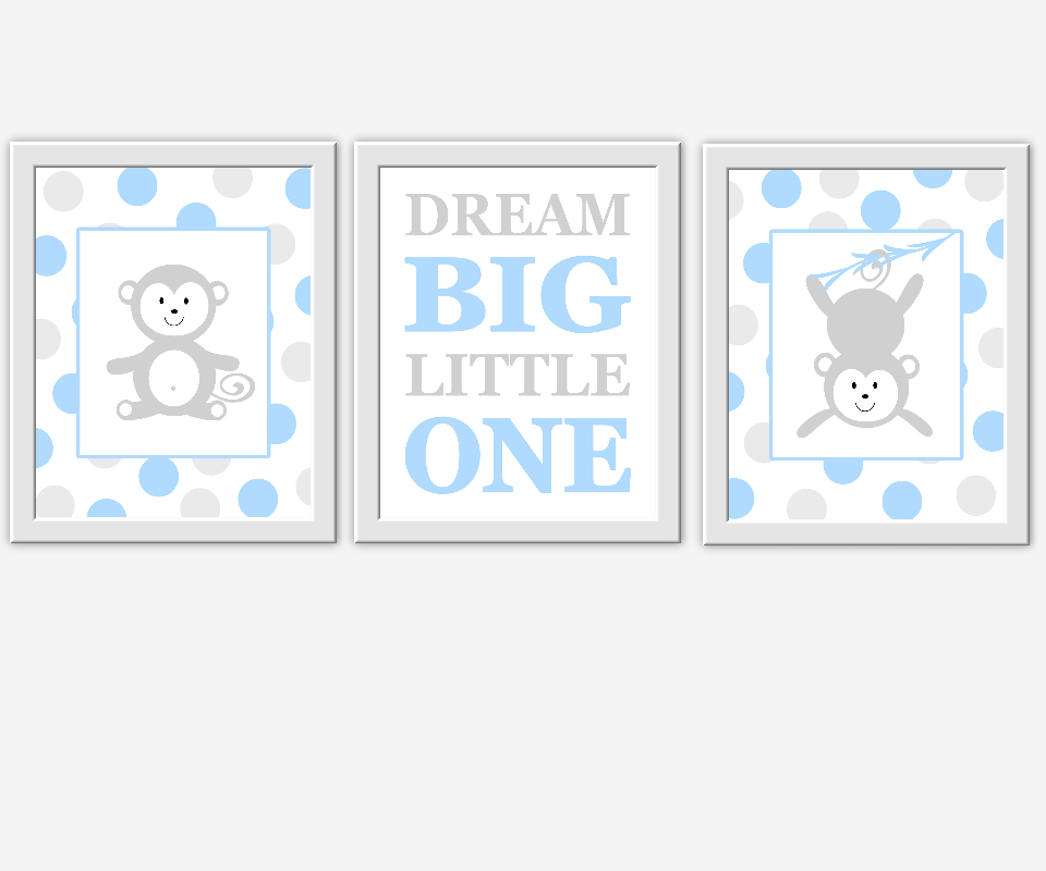 Baby Room Monkey Wall Decor  from d2j6dbq0eux0bg.cloudfront.net
