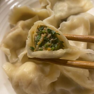 香菜鱼籽水饺(50) Cilantro&Tabiko Dumplings