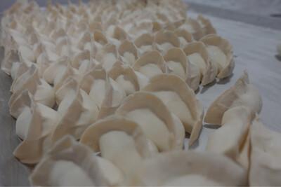 猪肉香菇水饺 Pork & Mushroom Dumplings