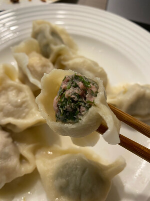 鲜肉茴香水饺(50)Pork&Fennel Dumplings