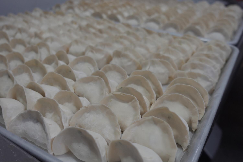 缤纷纯素水饺 Vegetarian Dumplings