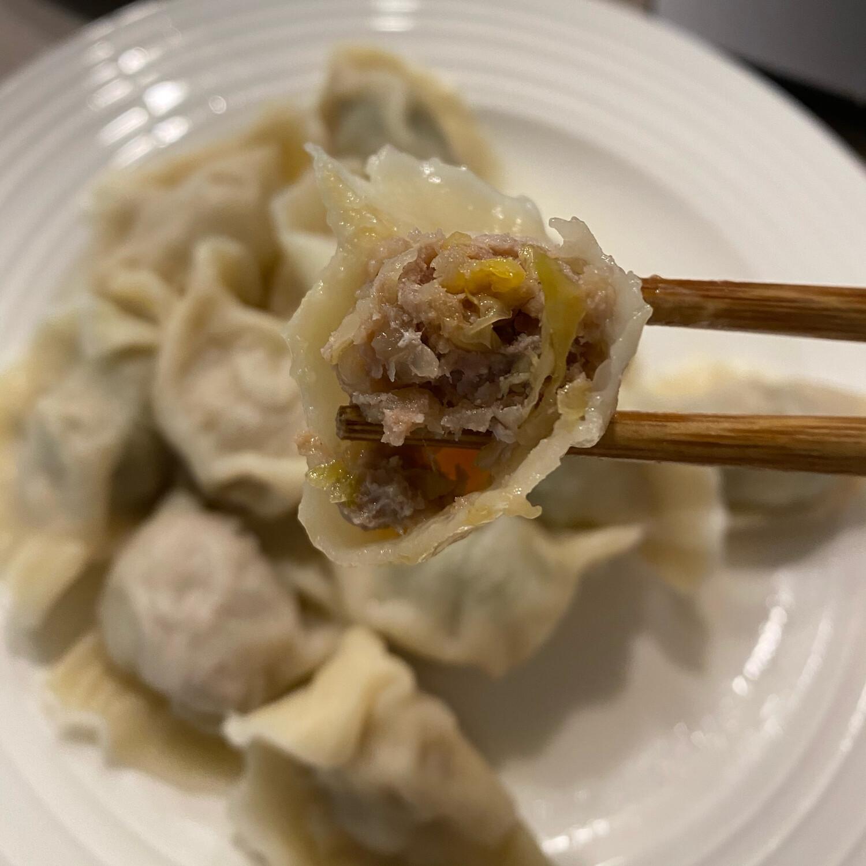 猪肉酸菜水饺(50)Pork&Pickled Nappa Dumplings