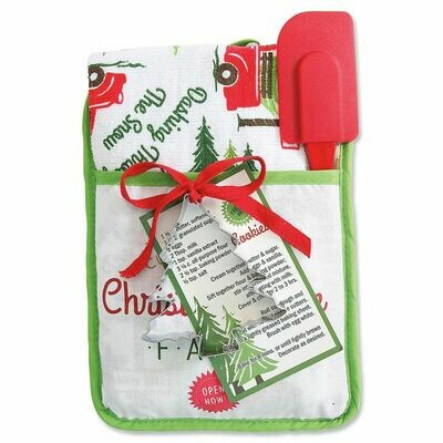 Christmas Pocket Mitt Gift Set- Christmas