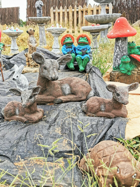 Bokkies Statues Set