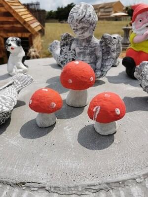 Mushroom Statue Set