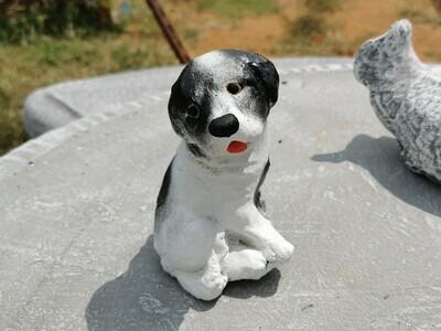 Cute doggy statue