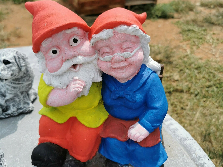 Grandpa and Granma Gnomes