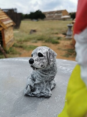 Little Dog Statue