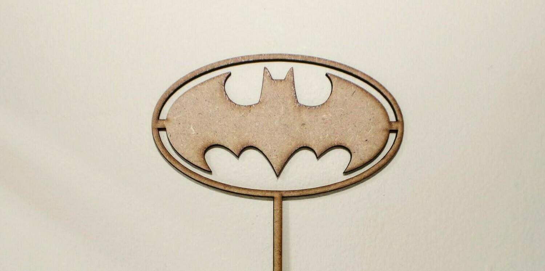 Batman Logo Cake Topper
