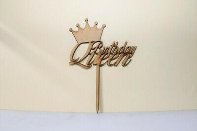Birthday Queen Cake Topper