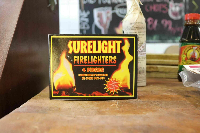 Surelight Firelighters (4Pc)