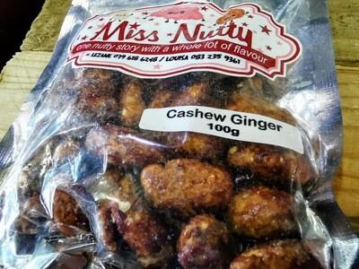 Ginger Flavored Cashews