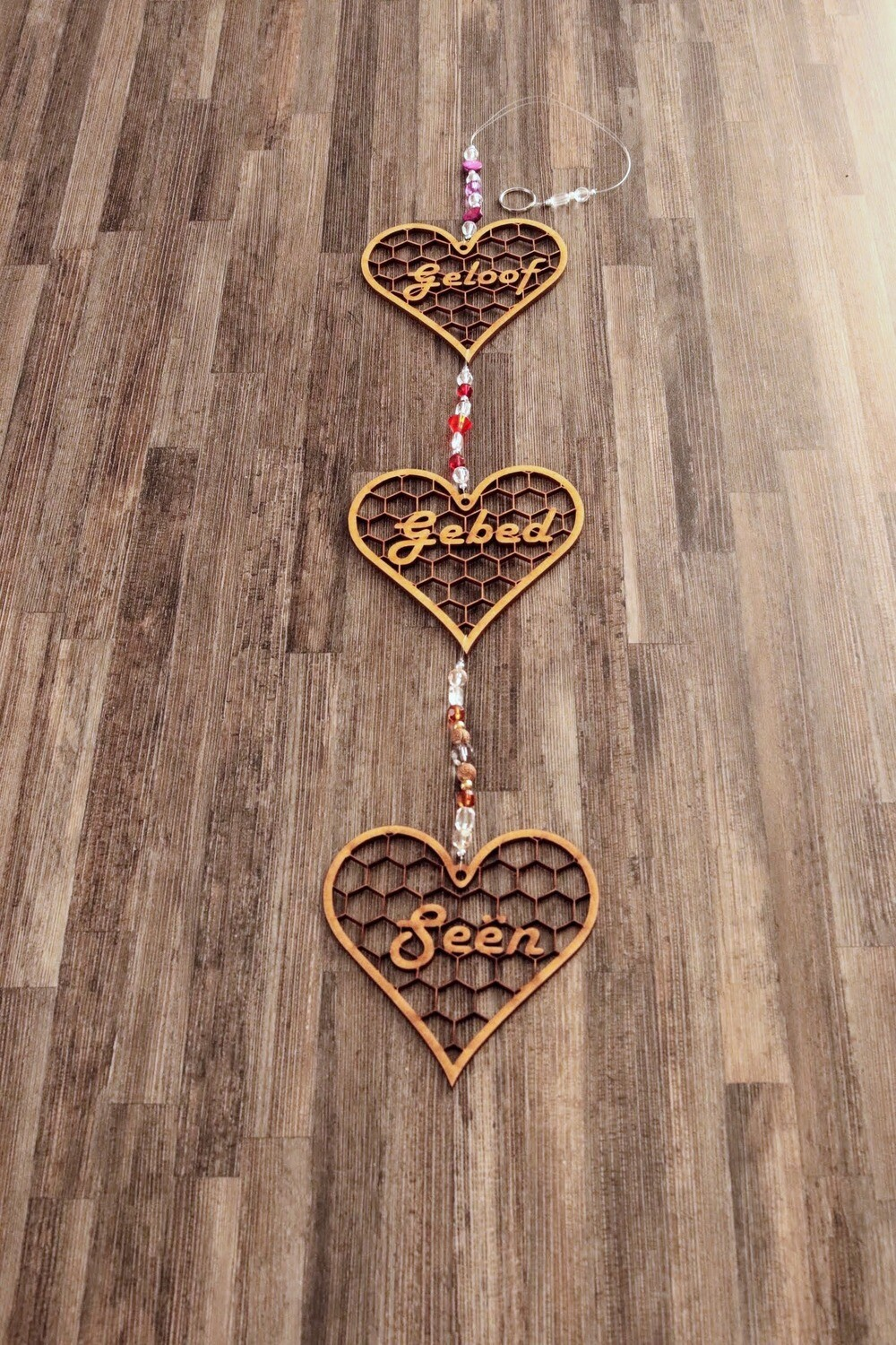 Beaded String of Blessed Hearts