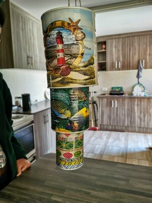 Lighthouse Tin Wind Chime