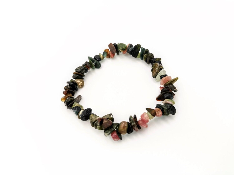Tiny Polished Stones Elastic Bracelet
