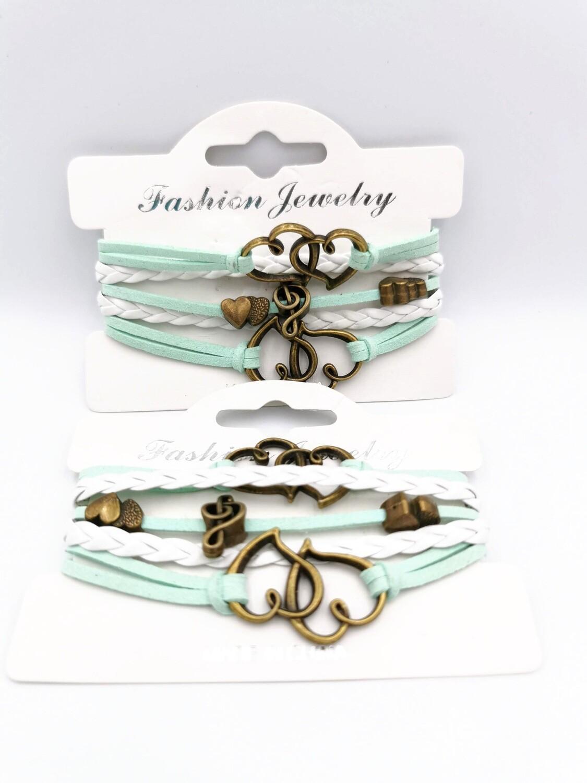 Musical Love Turquoise Bracelet