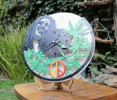 Bob Marley clock