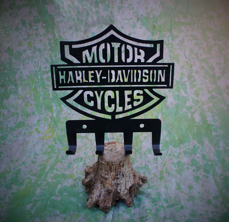 Metalwork Harley Davidson Metal Wall Art