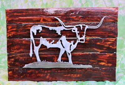 Metalwork Nguni Wall Art