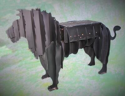 Metalwork Lion Large