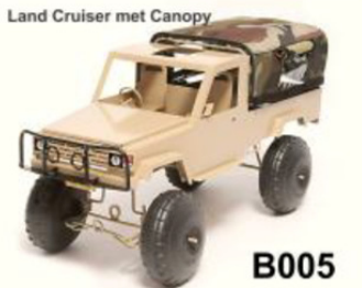 Land Cruiser with canopy