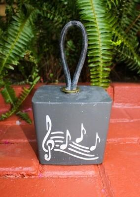 Deurstop met musieknote (vierkantig)