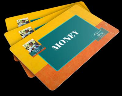 Kids Love Money Flashcards