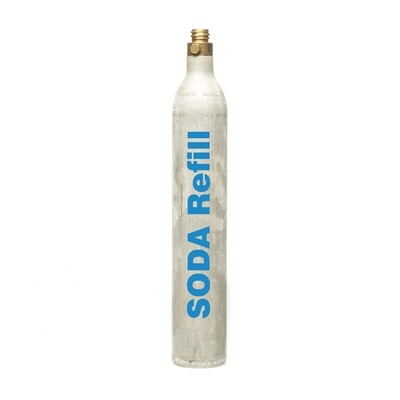 60l CO2 Refill - 1 Cylinder, Sodastream, Aarke, Sprudelux