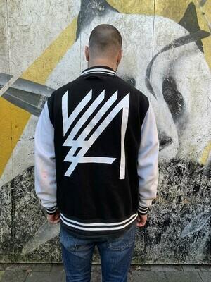 VLLA Varsity Jacket Black/White