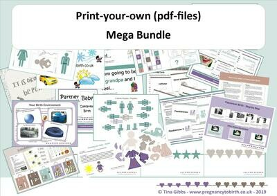 Mega Bundle (zip files containing pdf files)