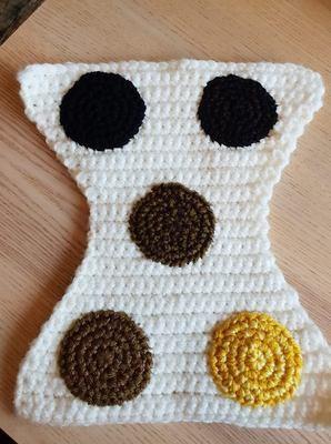 Crochet nappy