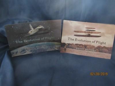 Evolution of Flight Postcard