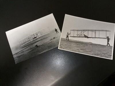 Postcard of John T. Daniels photo
